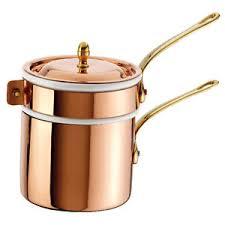 ustensiles de cuisine en cuivre paderno bain d eau cuivre ustensiles de cuisine bain série
