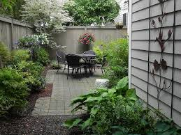 Backyard Plus Small Backyard Patio Complete With Iron Patio Chairs And Table