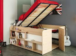 bureau avec rangement au dessus les meilleures idées gain de place dans la chambre déconome