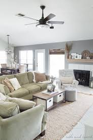 living room ceiling fan our new living room love 12 gorgeous coastal ceiling fans