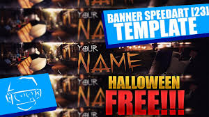 free halloween minecraft banner template tutorial speedart 23