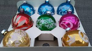 vintage kmart christmas tree glass ornaments s s kresge co