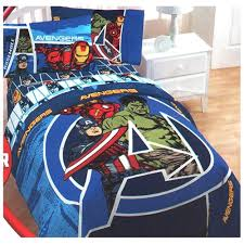 Marvel Double Duvet Cover Marvel Comics Avengers Assemble Twin Bed Sheet Set Twin Bedding
