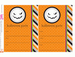 halloween party printable invitations u2013 festival collections