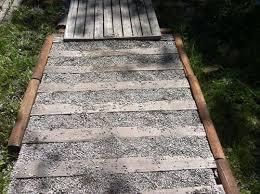 diy pallet wood walkway pallets designs