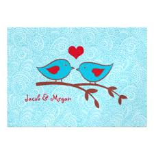 Love Bird Wedding Invitations Love Birds Invitations U0026 Announcements Zazzle Canada