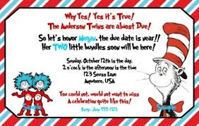 dr seuss baby shower invitations features of dr seuss baby shower invitations