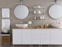 salle de bain avec meuble cuisine 10 salles de bains contemporaines miroirs circulaires ensembles