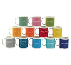 Peacock Mug British Colour Standard Iconic Mugs
