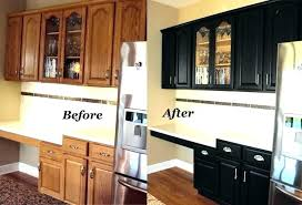 painted black kitchen cabinets wood and black kitchen cabinets a rich modern open kitchen with dark