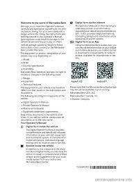 mercedes benz glc suv 2017 x253 owner u0027s manual