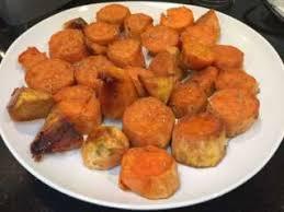 comment cuisiner la patate douce recette patates douces au four toutes les recettes allrecipes