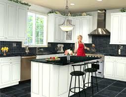 black gloss kitchen wall cabinets tile ideas glitter tiles