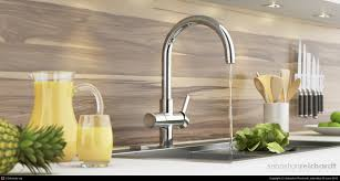 stainless steel deck mount grohe concetto kitchen faucet two