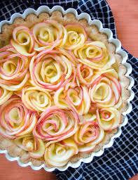 apple rose tart a little baker