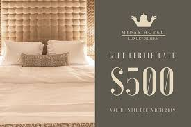 hotel gift certificates customize 138 hotel gift certificate templates online canva