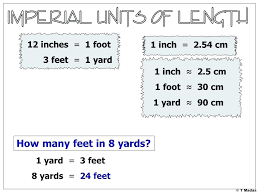 8 feet in inches 3 ft in a yard how many ft in a yard how many feet in 8 yards inches