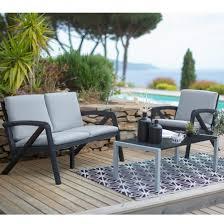 Salon De Jardin Design Luxe by Salon Lounge Jardin Hubo U2013 Qaland Com
