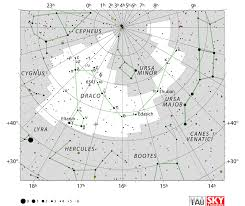 Where Is Greece On A Map by Draco Constellation Facts Myth Stars Location Star Map