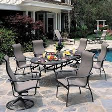 Tropitone Replacement Cushions SEA BREEZE SLING D Collection - Tropitone outdoor furniture