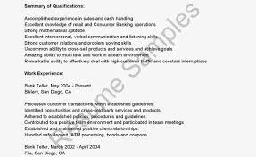 resume awesome resume for bank teller cover letter for financial