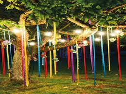 outdoor party decor ideas for birthday outdoor party decoration