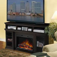 Entertainment Center With Electric Fireplace Dimplex Bennett Electric Fireplace Media Console Gds26l5 1555e