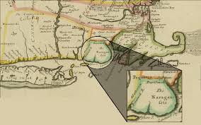 Map Of Ri Narragansett Territory In 17th Century Rhode Island U2013 Remembering