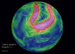 earth wind map whoosh animated global weather map has winning winds cnet