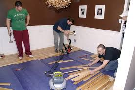 installing a hickory hardwood floorliving rich on less