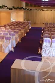 purple aisle runner purple wedding aisle runner petals or other blooms lining