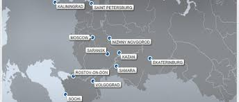 russia world cup cities map host city travel times and distances great atlantic sports travel