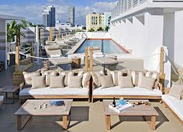 Pool Houses With Bars Best Rooftop Bars In Miami From Poolside Spots To Outdoor Clubs