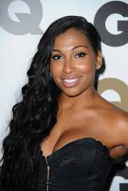 a side part with long hair and a swoop and a cross top 26 long hairstyles for black women