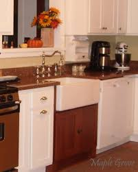 sink cabinets for kitchen maple grove how to build a support structure for a farm house sink