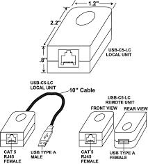 usb extender cat5 balun exceed maximum usb length rj45 extension
