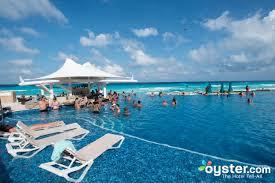 best swim up bars in cancun rock hotel cancun oyster
