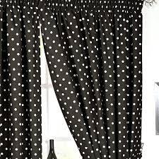 Black Polka Dot Curtains Gray And White Polka Dot Curtains 100 Images Polka Dots Bay