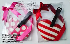 wedding gift jakarta chic and simple luggage tag design by bie bie souvenir gifts