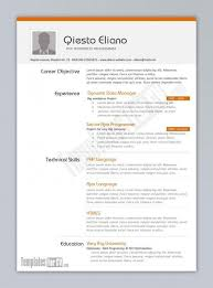 Technical Capabilities Resume Example Of One Page Resume Resume Example And Free Resume Maker