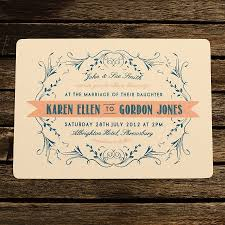 Simple Wedding Invitation Cards Designs 16 Wonderful Antique Wedding Invitations With Great Color
