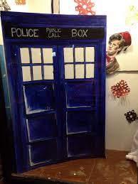 Dr Who Tardis Bookshelf Geek Nerd Biodork
