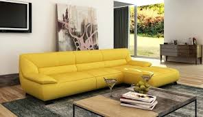 Yellow Sleeper Sofa Awesome Yellow Leather And 73 Yellow Leather Sofa Bed