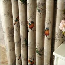 Curtains Birds Theme Curtains With Birds Teawing Co