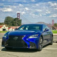 lexus is f sport 2018 2018 lexus ls 500 review