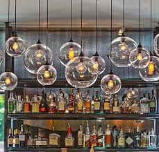 Led Light Bulbs Ebay by Retro Industrial Globe Loft Cafe Glass Ceiling Pendant Light Lamp