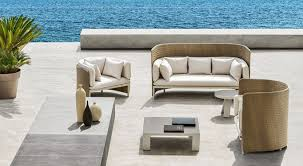 Luxury Designer Outdoor Furniture  Lighting Houseology - Designer outdoor table