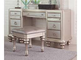 Silver Bedroom Vanity Game Glamorous Silver Bedroom Collection