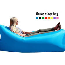 dymade air lounger fast inflatable air bag bed sofa couch outdoor