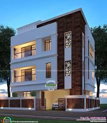 Kerala Home Design Software Beautiful Night View Of A Flat Roof Villa Kerala Home Design And
